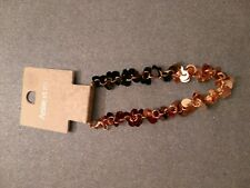 ANISE ET MOI SHINY BRACELET BROWN/BRONZE COLOUR