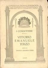 GRASSELLI BARNI Annibale, Vittorio Emanuele terzo
