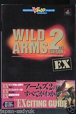 """JAPAN Wild Arms 2 / Wild Arms: 2nd Ignition """"Exciting Guide"""""""