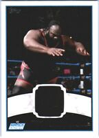 WWE Mark Henry 2012 Topps Authentic Event Worn Shirt Relic Card Black DWC2