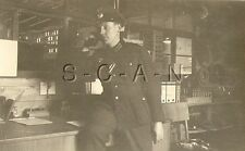 WWII German RP- Soldier- Hat- Ribbon- Field Office- Answers Field Telephone- 41