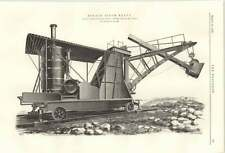 1899 10 Ton Steam Navvy Ruston Proctor Lincoln