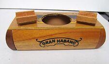Wood Cigar Box Holder Storage HECHO AMANO GRAN HABANO LA PERLA HONDURENA