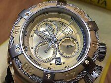 21352 Invicta Reserve 52mm Thunderbolt Swiss Quartz Chronog Silicone Strap Watch
