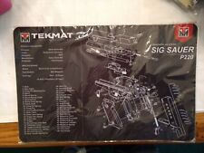 Tekmat Sig Sauer P220 11x17 inch new in package