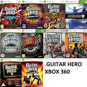 Xbox 360 Guitar hero Xbox 360 - Game Only - Bundle Up Or Buy 1 - Fast Delivery
