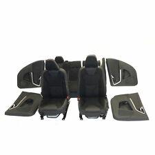 Volvo XC60 I 08-17 Sitzausstattung Sitze Innenausstattung Teilleder schwarz