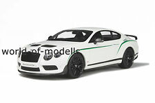 GT Spirit 121  Bentley Continental GT3-R weiß 1:18 NEU in OVP