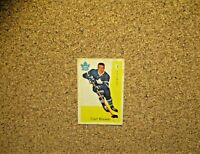 1959-60 Parkhurst Hockey #3 Carl Brewer (Toronto Maple Leafs) RC