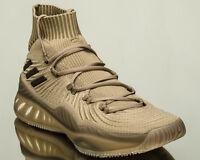 Adidas pazzo esplosivo primeknit scarpe da basket cachi marrone sz