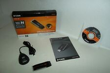 D-Link DWA-130 Wireless-N 300 USB Dongle Adapter 2.4GHz Built-in Antenna MIMO