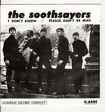 45RPM, SOOTHSAYERS, I DON'T KNOW, PIC SLEEVE VG+ / REC. M-