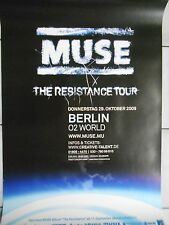 Muse 2009 Berlin -- Orig. Concert Poster-concert affiche a1 NEUF