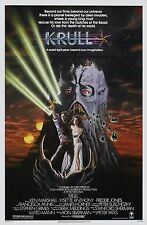 KRULL Movie Poster * Reprint * 13 x 19