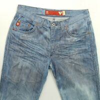 GUESS  Womens  Vintage Jeans W29 L32 BLue Regular Straight