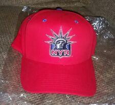 LIGHTED Baseball RED Cap hat NHL HOCKEY New York Rangers BRAND NEW LIGHTWARE