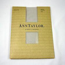 Ann Taylor Sheer Lustre Luster Platinum Pantyhose Size Medium Control Top