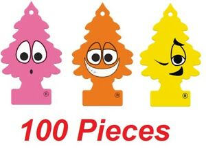 100 Little Trees WUNDER-BAUM Hanging Car Home Air Freshener - Mix/Assorted - NEW