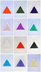 Miyuki Delica Beads size 11/0  -  5 grams  -  Choose Colour