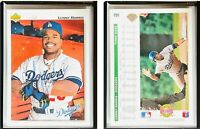 Lenny Harris Signed 1992 Upper Deck #191 Card Los Angeles Dodgers Auto Autograph
