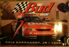 Lot Of 16 Dale Earnhardt Jr. 1999 Budweiser #8 Posters - Nascar Racing