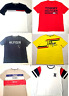 Tommy Hilfiger Mens T-shirt Crew Neck Top Flag Logo Shirt Short Sleeve Plus Size