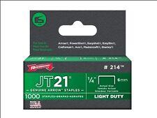 ARROW JT21/T27 STAPLES 6MM