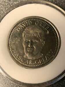 NASCAR COIN COLLECTION DAVID GREEN 1996 NASCAR GREATS LIMITED EDITION MINT COND.