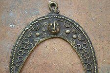 Mid 20th century African tribal Benin bronze Pendant/currency piece,c 1950