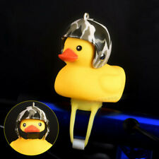 Bike Bell Light Shining Rubber Duck Bicycle Bells Motorcycle Horn Handlebar AU