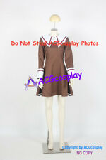 Chobits Chii School Uniform cosplay costume brown skirt acgcosplay