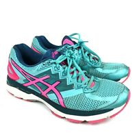 Asics GT-2000 4 Running Cross Training Shoes Teel Pink Womens size 10.5 T656N