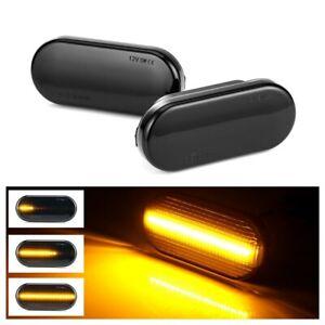 LED Side Marker Light Turn Signal Light For Seat Leon Ibiza 6L Cordoba Toledo