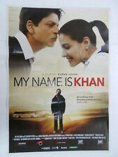 MY NAME IS KHAN 2010 SHAH RUKH KHAN KAJOL Rare Poster Bollywood Film Hindi