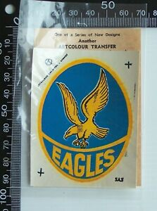 VINTAGE SANFL WEST TORRENS FOOTBALL CLUB EAGLES ARTCOLOUR TEAM LOGO CAR TRANSFER