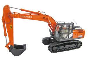 New! Hitachi Construction Excavator ZX200-6 (JAPAN MODEL) 1/50