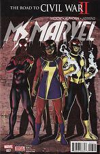 Marvel Comics 2016 Ms. Marvel #7, Near Mint, Never Read!