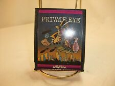 Private Eye (Atari 2600, 1983) Tested and working