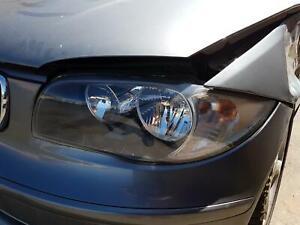 BMW 1 SERIES LEFT HEADLAMP E82/E87/E88, COUPE/HATCH/CABRIO, 03/09-03/11