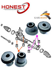 For TOYOTA AVENSIS VERSO PICNIC 01-2009 STEERING RACK BUSH 4 Pce Kit By Karlmann