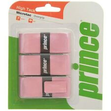 3 Prince Microtac Grips/Overgrips - Pink - Free P&P