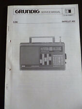 Original Service Manual  Grundig Satellit 400