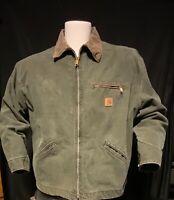 Vintage.Carhartt Mens Detroit Jacket Size 50  2- XL Reg.