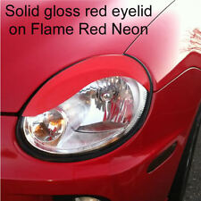 Dodge Neon headlight eyelid overlays SRT-4 S curve eye brow Gloss Red