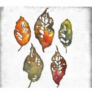 Halloween Leaf Fragments Metal Cutting Dies Scrapbook Diary Decoration Stencil