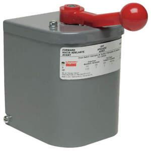 DAYTON 2X442 Switch,Drum Reversing,Plastic Handle
