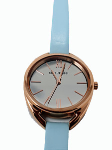 CERRUTI 1881 Sky Blue Leather Elice Analogue Watch - CRM19311