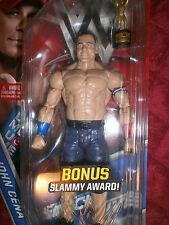 WWF WWE JOHN CENA #69 WRESTLING ACTION FIGURE  BONUS: SLAMMY AWARD