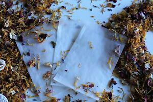 Glassine bags Confetti, favours,wedding, soap, favors, stamps50 pieces