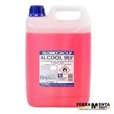 ALCOOL ETILICO DENATURATO 99,9 ° % 5 L DISINFETTANTE PER USO DOMESTICO E INDUSTR
